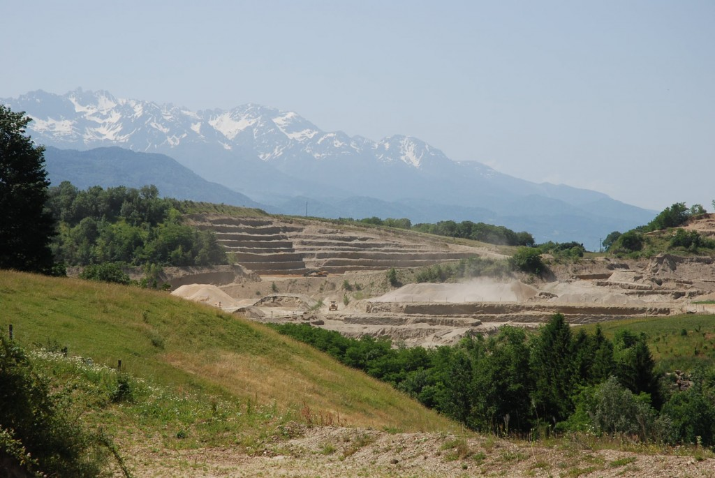 Réaménagement de sites Semonsat travaux publics carrières